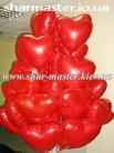 Воздушные шары на День Валентина и 8 Марта в Киеве, шарики с гелием, фигуры из шаров.