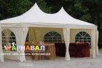 Прокат, оренда весільний садовий шатер Мілано J 1052
