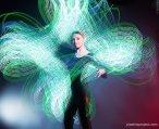 Световое шоу и контактное жонглирование от Plazma Project