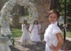 Ведущая выездной церемонии бракосочетания