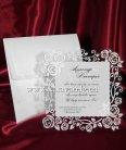 Шикарные и изысканные пригласительные на свадьбу или юбилей с нанесением индивидуального текста
