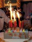 Свічки «фонтани» тортові піротехнічні холодні, свечи тортовые пиротехнические холодные