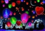 Небесные фонарики (Киев) летающие фонарики оптом, китайские фонарики, бумажные фонарики