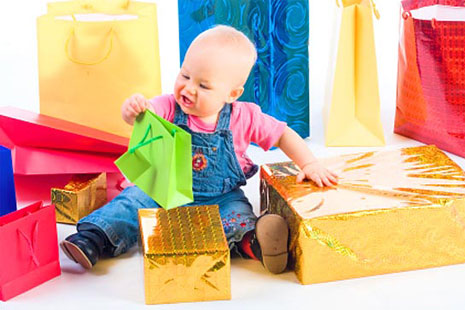 подарки малышу на 1 год