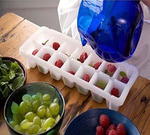 фрукты во льду